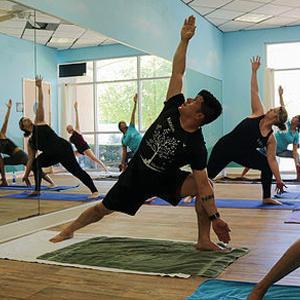 Blue Moon Yoga Class